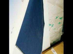 100% poliesterio vilnos dvasios PVC dengtos vandeniui atsparus Pongee audinys lauko striukei