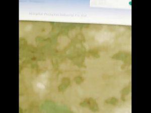 1000D nailono Oxford vandeniui atsparus kamufliažas PU padengtas audinys