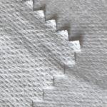 WF1 / O9TO5 SS + PTFE Neaustinis audinys, laminuotas PTFE pieniškai kvėpuojančia medicininio apsauginio kostiumo audinio membrana