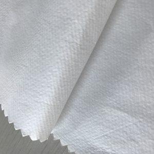 WF1 / O6SO5 SS + PE 65gsm neaustinis polipropileno audinys + PE vienkartinių apsauginių drabužių audiniams medicinos reikmėms