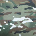 Teflonas 100% poliesterio austi vandeniui atsparus lauko kariuomenės kamufliažas lietaus striukės audinys