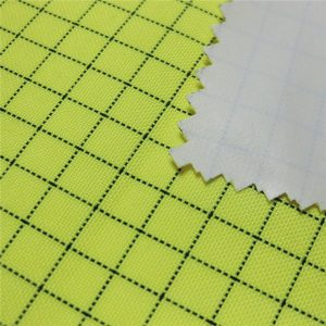 greitai pagaminti pagal užsakymą nebrangiai 100 poliesterio ruožinių darbo drabužių audinio