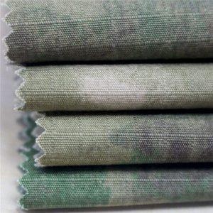 Antistatiska karinė spauda Ripstop medvilninis audinys kariuomenės drabužiams