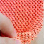 Poliesterio trikotažo metmenys, megzti tinkleliai, karinės kuprinės, kišeniniai audiniai