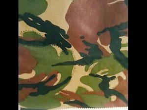 kamufliažas atspausdintas neperšlampamas ripstop nailono oksfordo vientisas karinis audinys